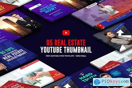 Real Estate Youtube Thumbnail