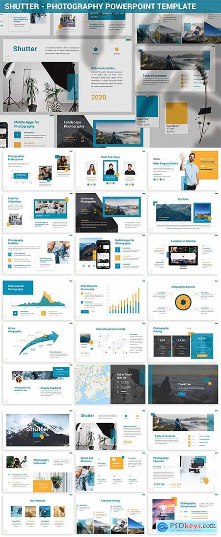 Shutter - Photography Powerpoint Template