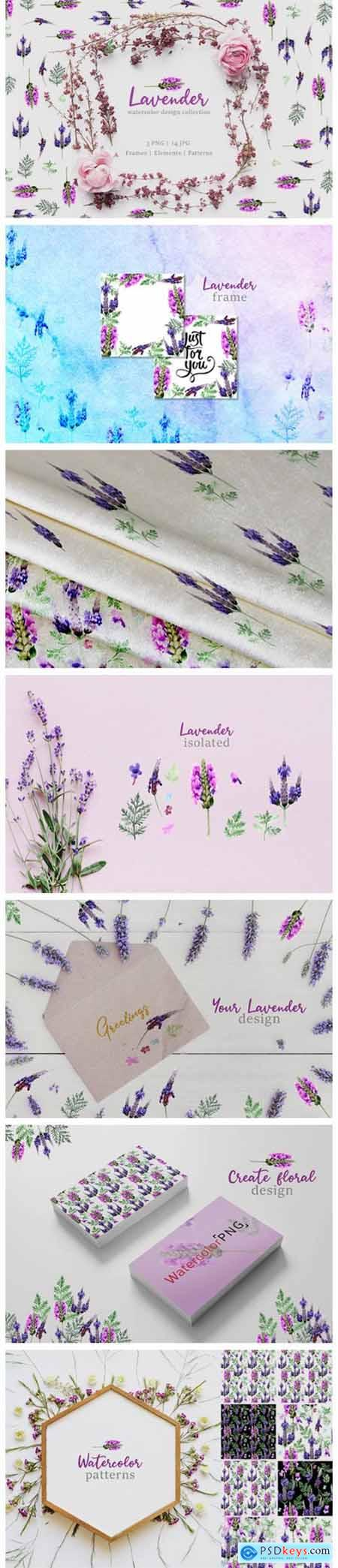 Lavender Watercolor 4750960