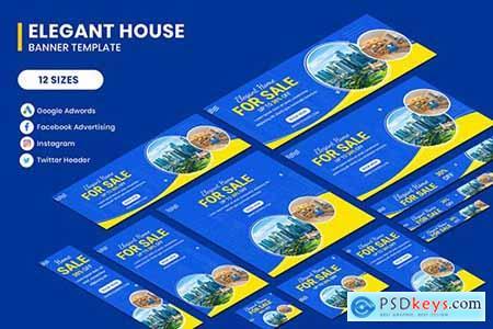 Elegant House Banner Template