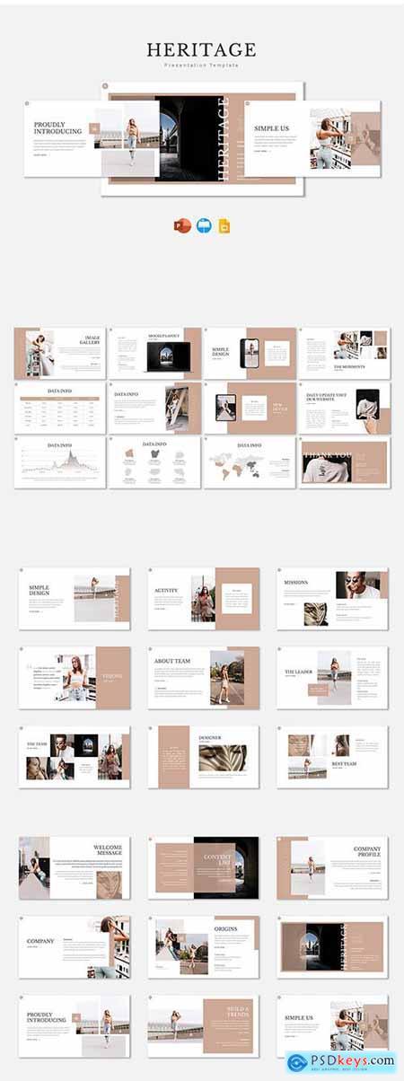 Heritage - Presentation Template