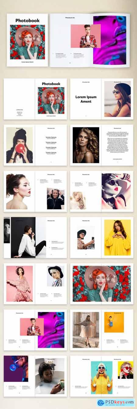 Minimal Fashion Photobook Layout 375648030