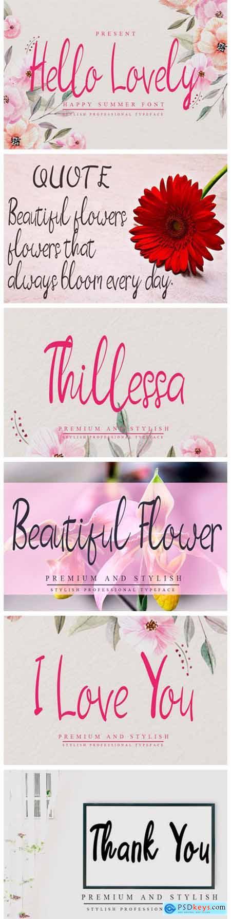 Hello Lovely Font