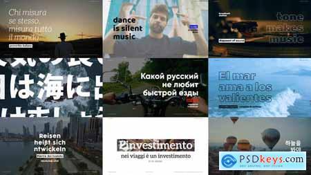 Motion Typography - Typography Promo 27749660
