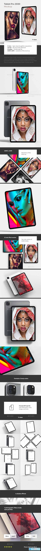 Tablet Pro 2020 Mock-up 28456538
