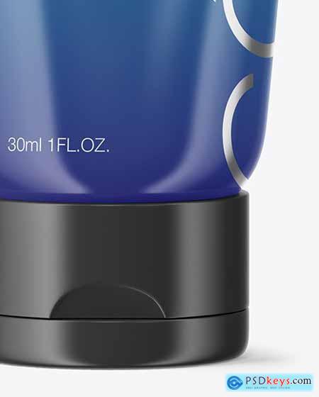 Glossy Cosmetic Tube Mockup 67095