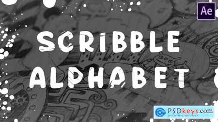 Scribble Alphabet - After Effects 28562901