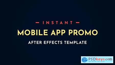 Instant App Promo Mobile After-Effects Video Template 28497451