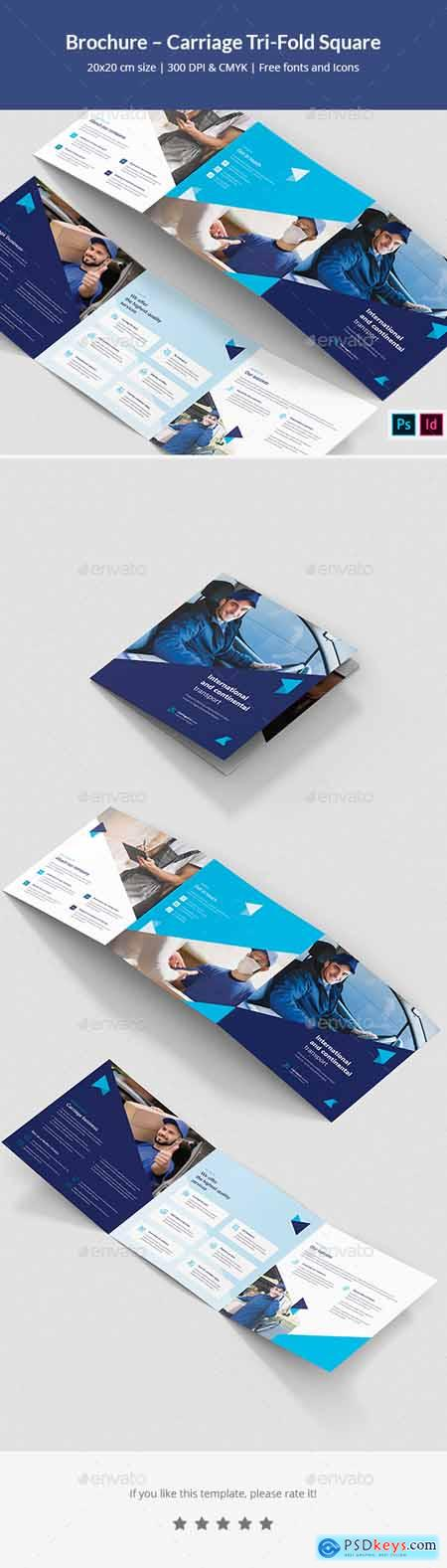Brochure – Carriage Tri-Fold Square 28370582