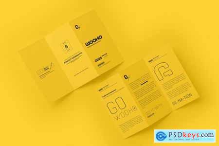 A4 Z Fold Brochure Mockup 5313789