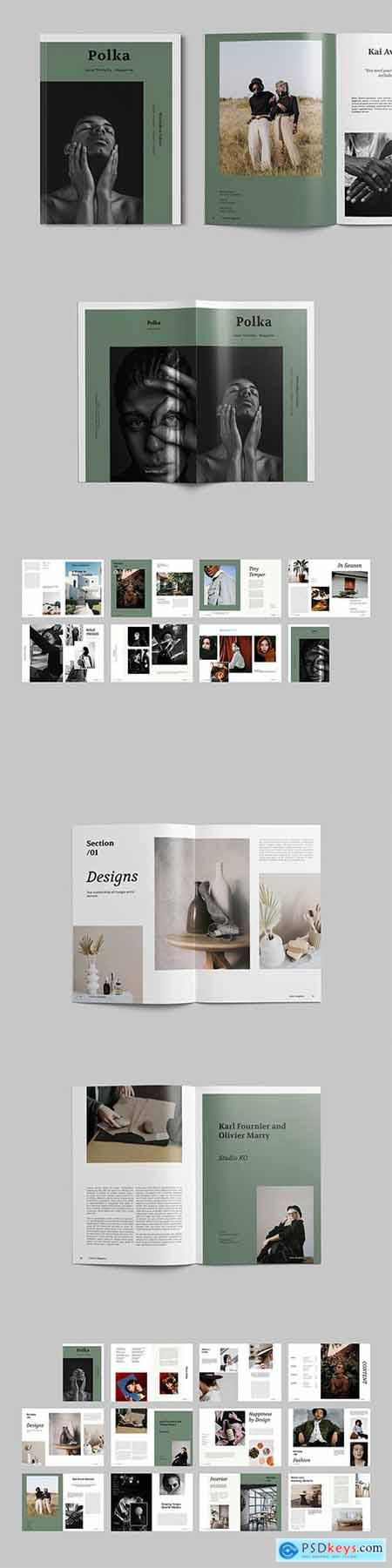 Magazine Template127