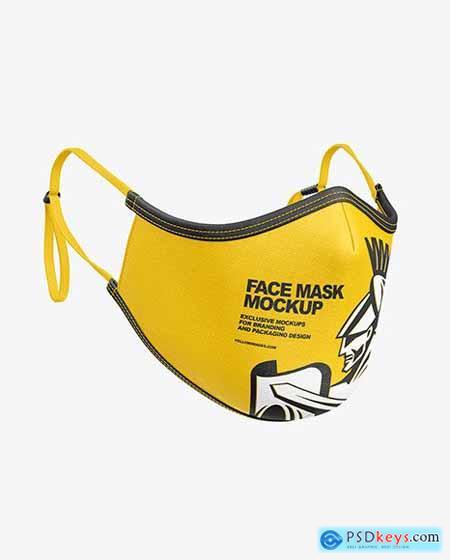 Face Mask Mockup 67132