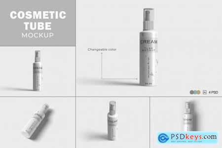 Cosmetic Tube Mockups V.5