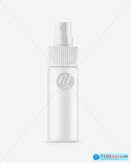 Matte Spray Bottle Mockup 66255