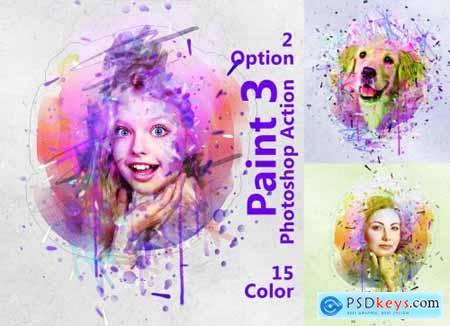 Paint Photoshop Action 5249577