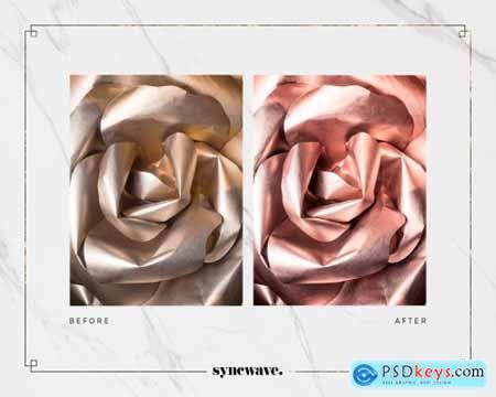 Rose Gold Lightroom Presets Bundle 5251326