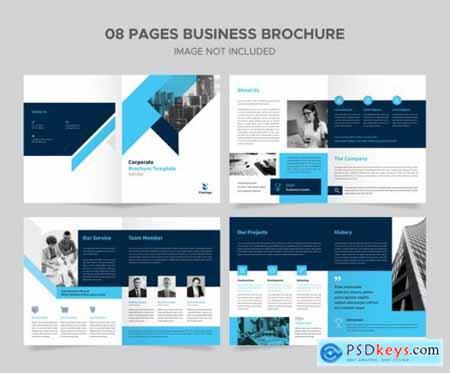 Corporate brochure design template