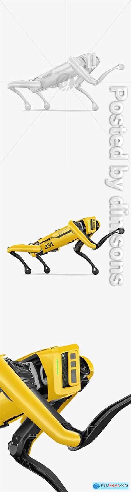 Four-Legged Robot Mockup 66217