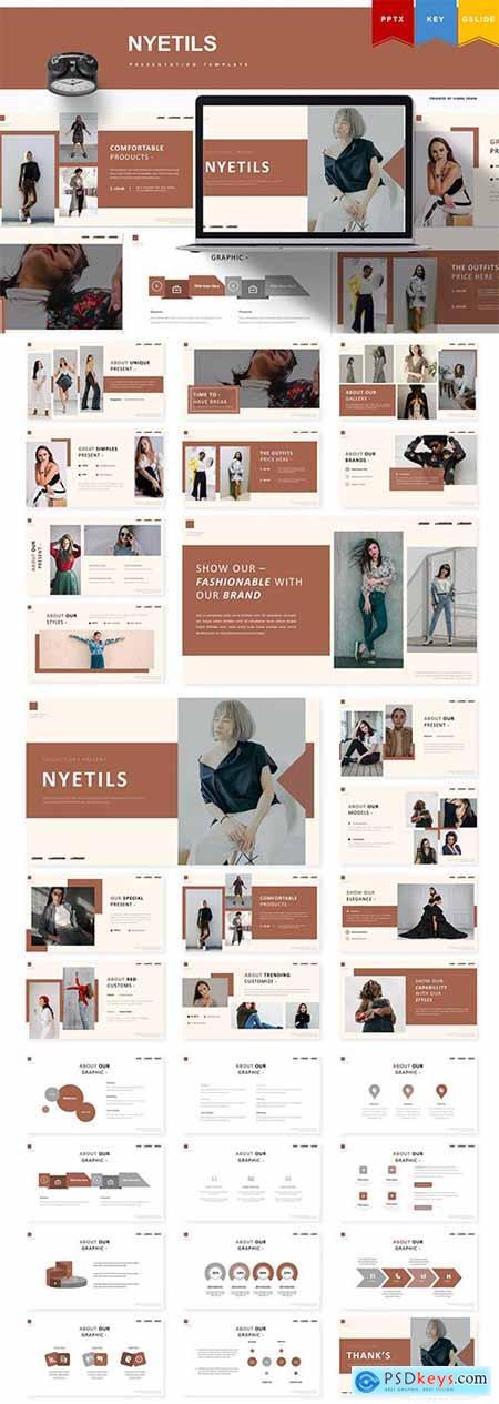 Nyetils - Powerpoint, Keynote, Google Slides