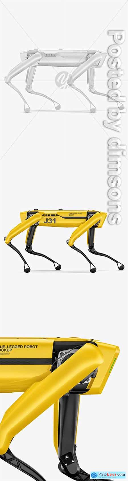 Four-Legged Robot Mockup 66142