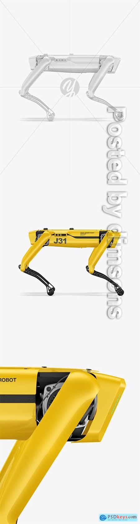 Four-Legged Robot Mockup 66074