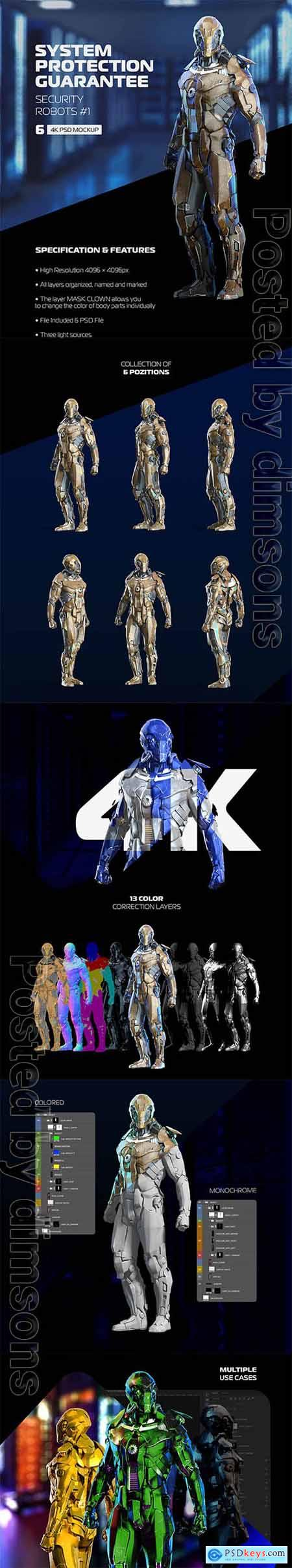 Security Robots #1 66025