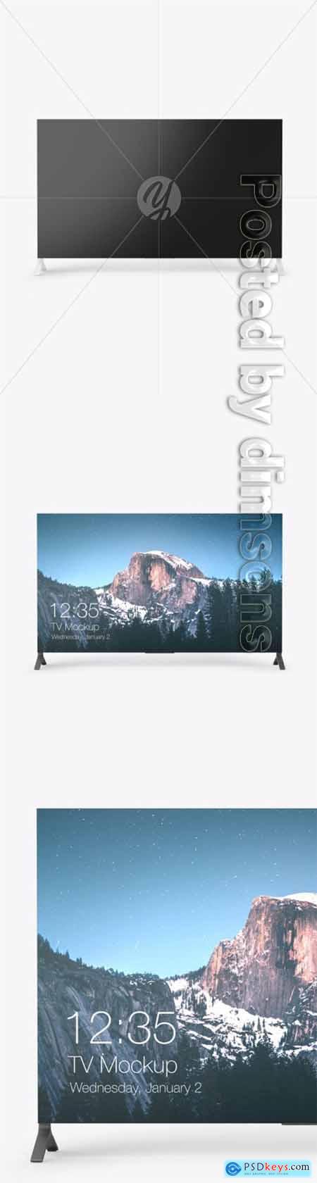 TV Mockup 66307
