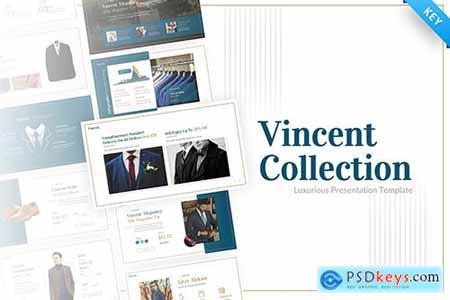 Vincent Luxury Presentation Keynote Template