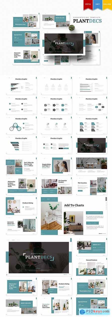 Plantdecs - Powerpoint, Keynote, Google Slides