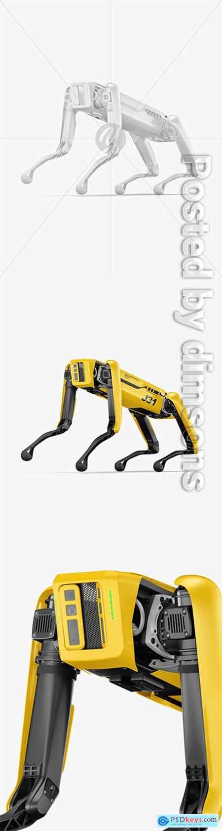 Four-Legged Robot Mockup 66151