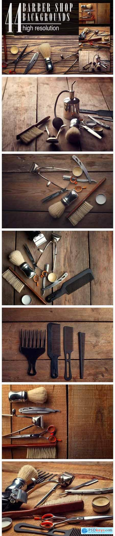 Barber Shop Wooden Backgrounds 4756322