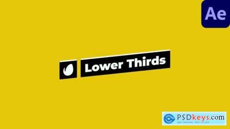 Self-Resizing Lower Thirds 28493621