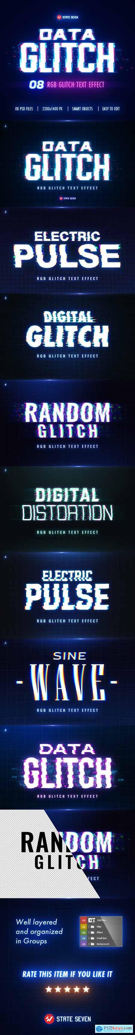 Glitch Text Effect 27807032