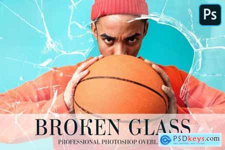 Broken Glass Overlays Photoshop 4935123