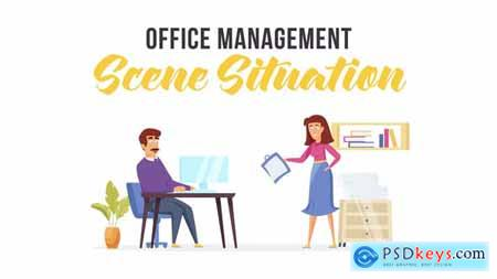 Office management - Scene Situation 28481630