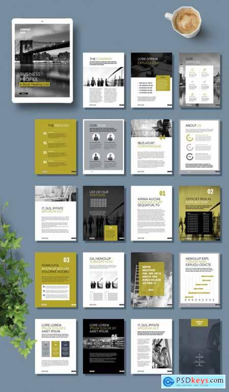 Business Profile Ebook Layout 377366722