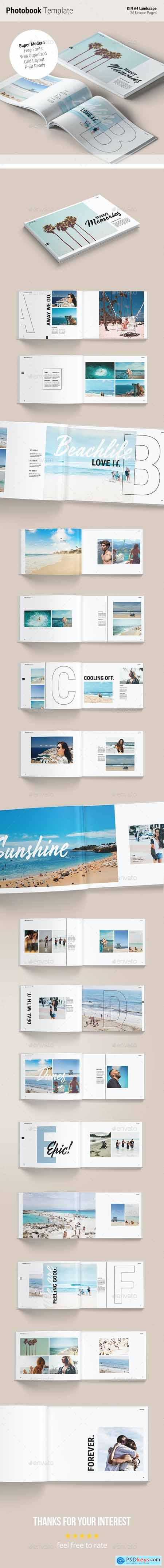 Photobook Template Memories 25319565