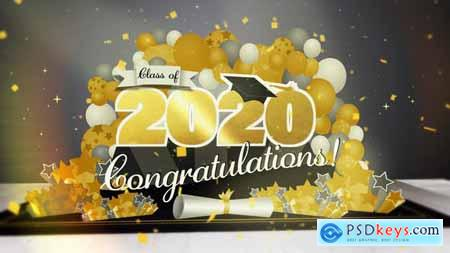 Graduation Pop Up Title Mogrt 27017008