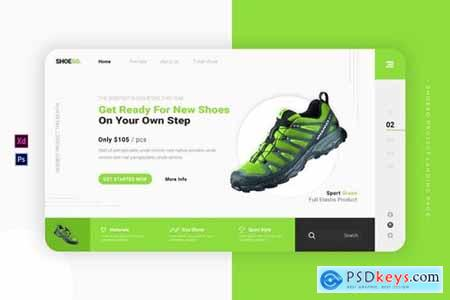 Shoeso Project - Landing Page
