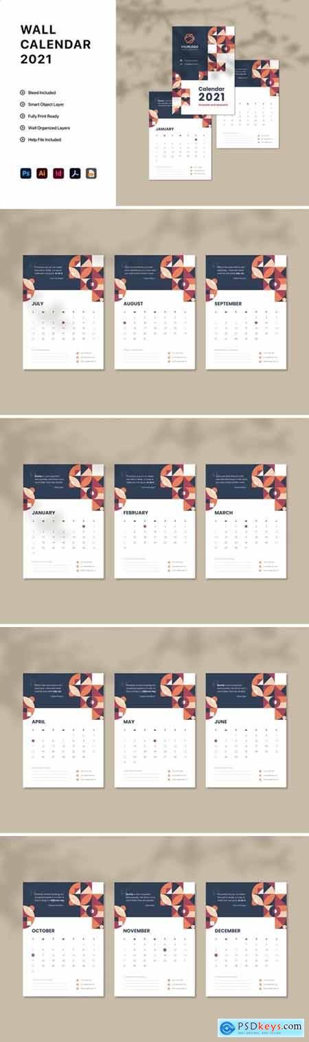 Calendar 2021 4RH3WS8