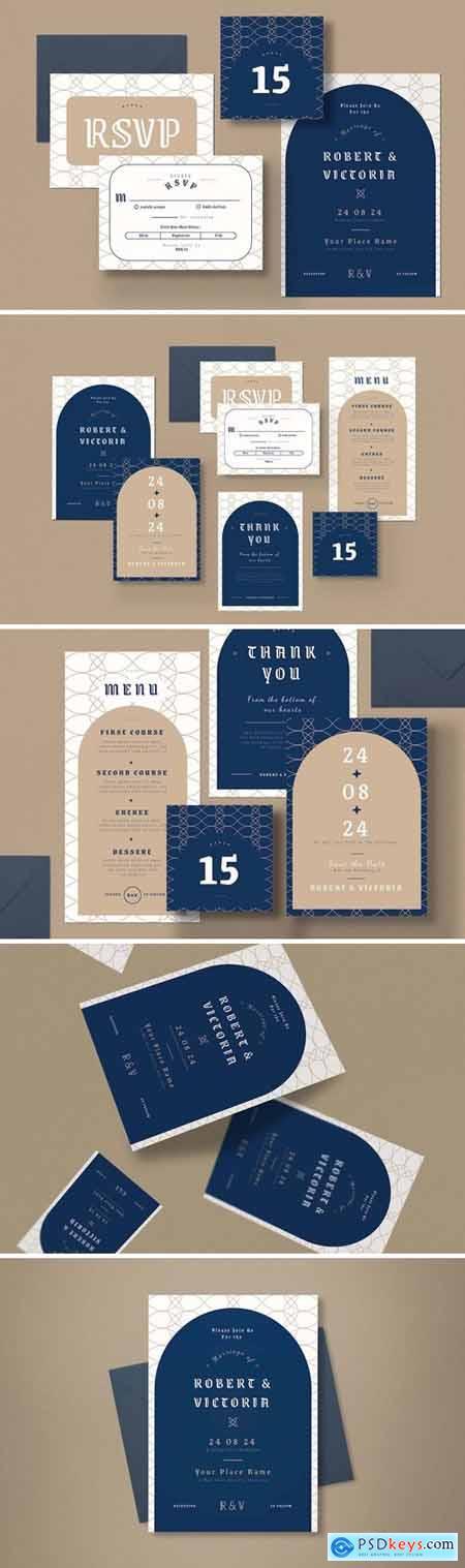 Wedding Invitation Set C9HRDWP