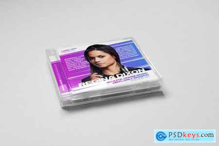 DJ Mix - Podcast - Album CD Cover Artwork Template