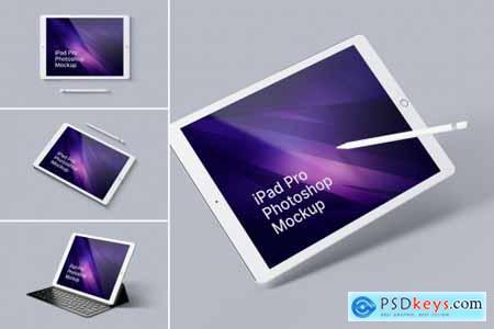 iPad Pro Photoshop Mockups