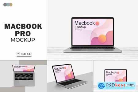 Macbook Pro Mockups V.6