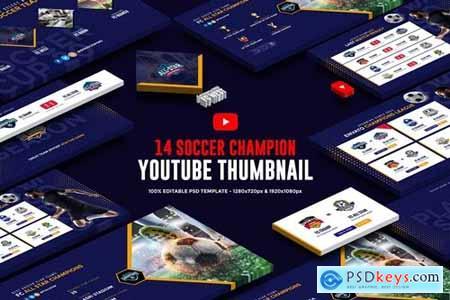 Soccer Champion Youtube Thumbnail