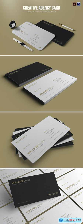 Creative Agency - Business Card