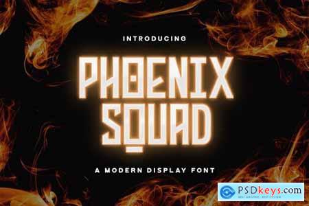 Phoenix Squad - Modern Display Font 5338384