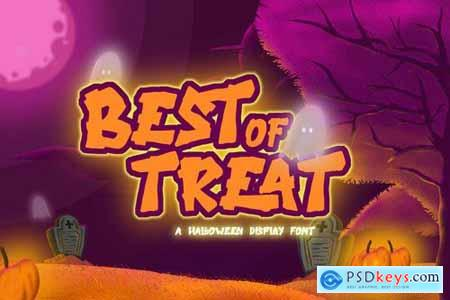 Best of Treat - Halloween Typeface