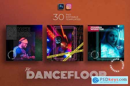 Dance Floor - Instagram Template 5111033