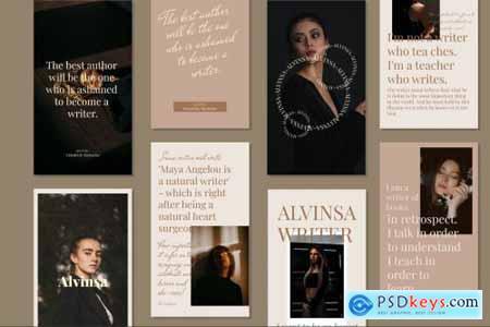 Alvinsa - Instagram Post & Stories 4982655
